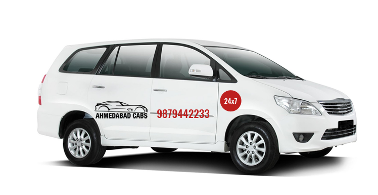 SUV Cab Service Provider in Ahmedabad